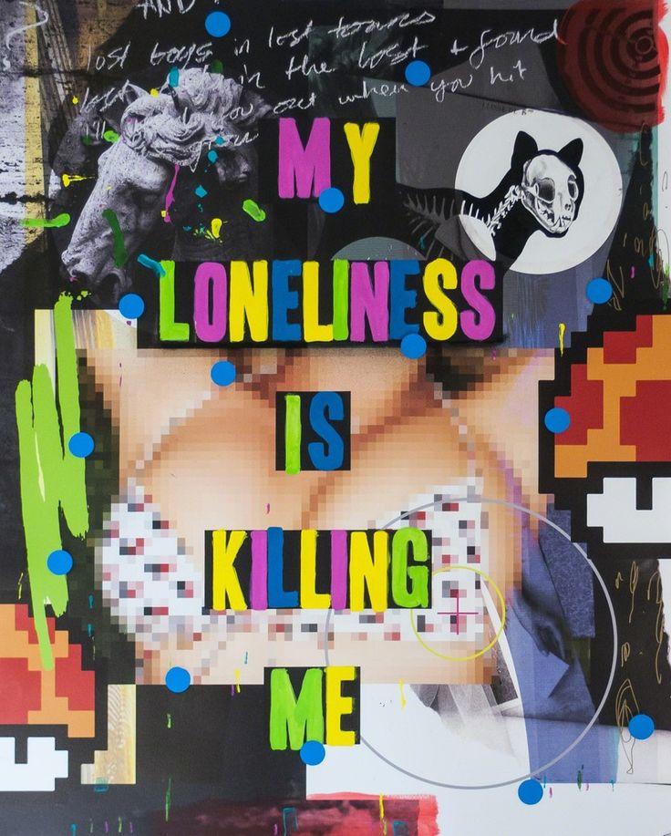 Stuart Semple, My Loneliness is Killing Me, 2015, Fabien Castanier Gallery