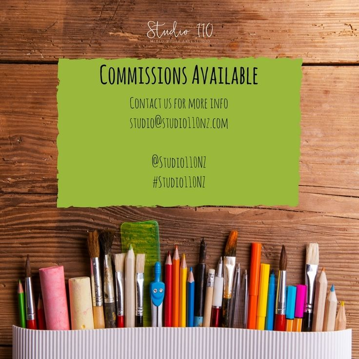 Did you know that some of our Artists will work on Commissions? Commissions are available for scenic, people and animals. Don't hesitate to contact us if you are wanting a commission done, studio@studio110nz.com #Studio110NZ