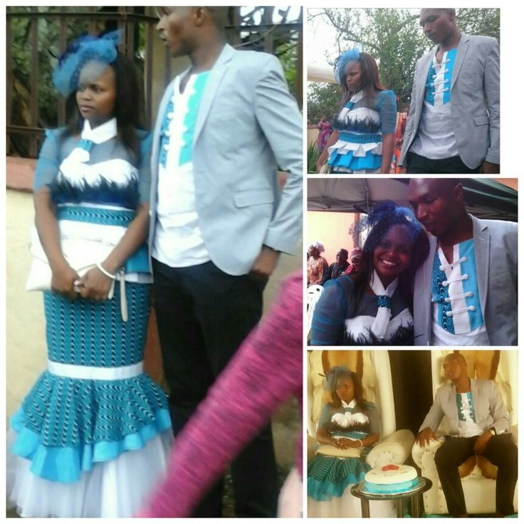 Shweshwe at her membeso