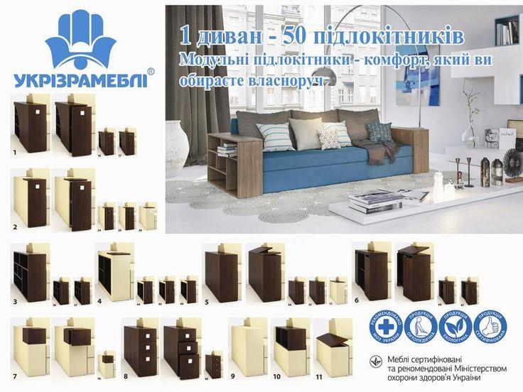 Подлокотники | Укризрамебель. Производитель качественной мягкой мебели. Диваны, кресла, декоративные подушки. Купить в Киеве, цена, доставка.