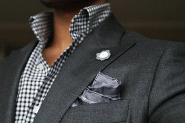shirt + blazer combo