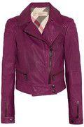 Burberry Brit | Leather biker jacket