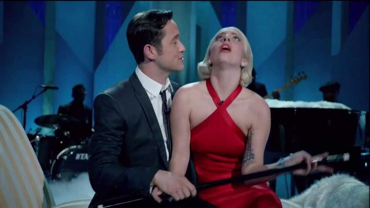 Lady Gaga & Joseph Gordon-Levitt -- Baby It's Cold Outside