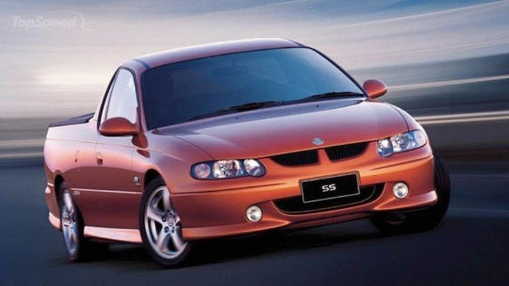 2000 holden commodore vu ute - DOC471092