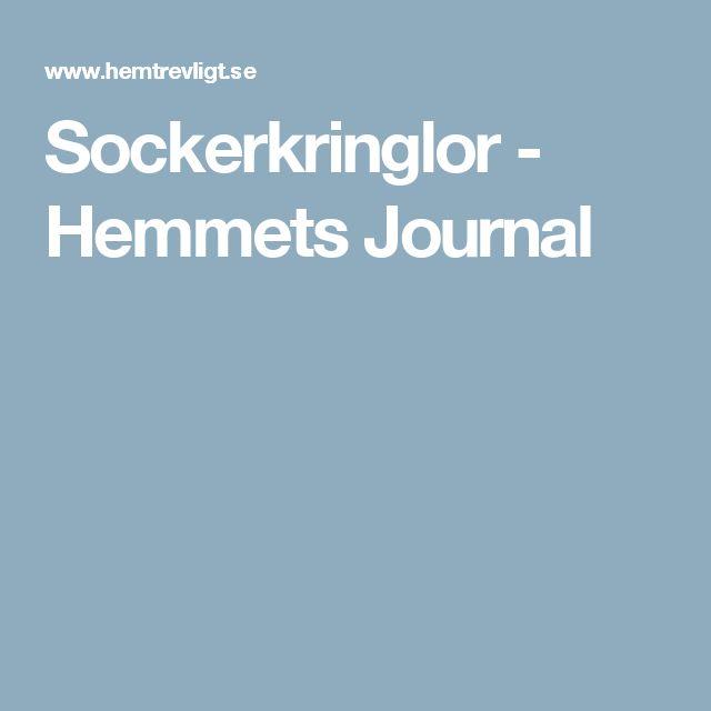 Sockerkringlor - Hemmets Journal