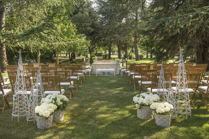 Finca El Campillo & Mar de Flores. Ceremonia civil en sus jardines