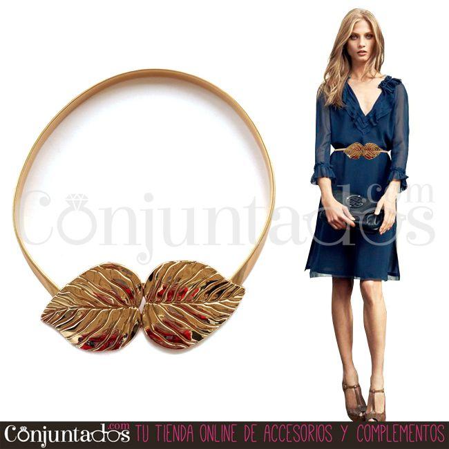 El #cinturón dorado con cierre de hojas es un #complemento que no pasa de #moda y que será tu pieza más preciada y amortizable para las próximas #bodas, #bautizos y #comuniones. También perfecto para tu día a día ★ 11'95 € en http://www.conjuntados.com/es/cinturon-metalico-dorado-con-cierre-de-hojas.html ★ #novedades #belt #conjuntados #conjuntada #accesorios #lowcost #fashion #fashionadicct #picoftheday #outfit #estilo #style #GustosParaTodas #ParaTodosLosGustos
