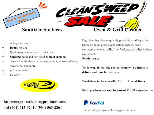 Magnum Oven Grill Cleaner Promo Magnum Oven Grill Cleaner Clean Grill Oven Grill Cleaners Grilling