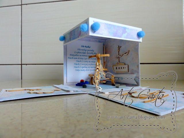 Art-Carta : Eksplodujące pudełko z rowerkiem
