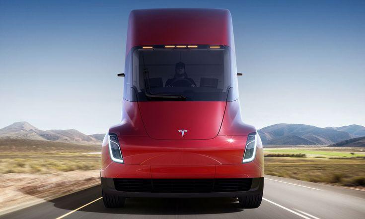 Tesla Semi jeprvní elektricky poháněný kamion nasvětě