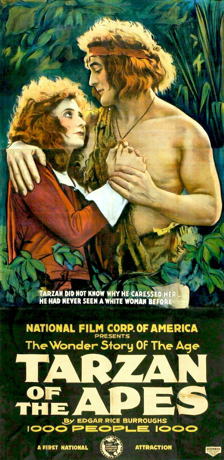 Tarzan of the Apes is a 1918 American action/adventure silent film directed by Scott Sidney starring Elmo Lincoln, Enid Markey, George B. French and Gordon Griffith. The movie was the first Tarzan movie ever made