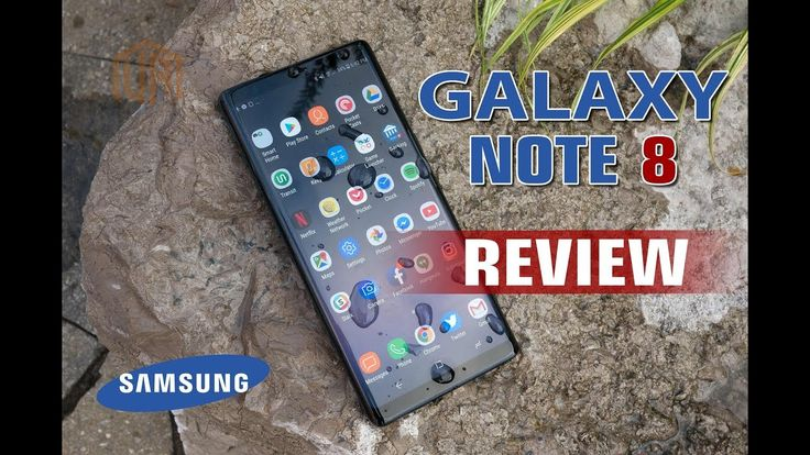 SAMSUNG Galaxy Note 8 Best Smartphone review