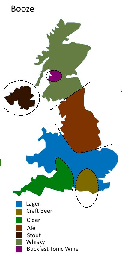 UK Divided By Booze