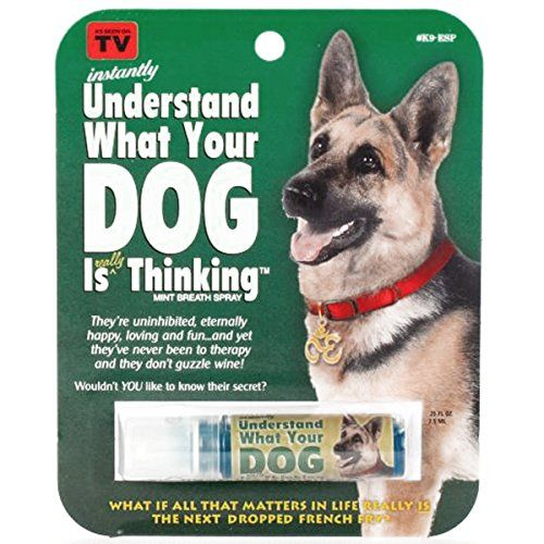 Instantly Understand What Your Dog Is Thinking Breath Spray