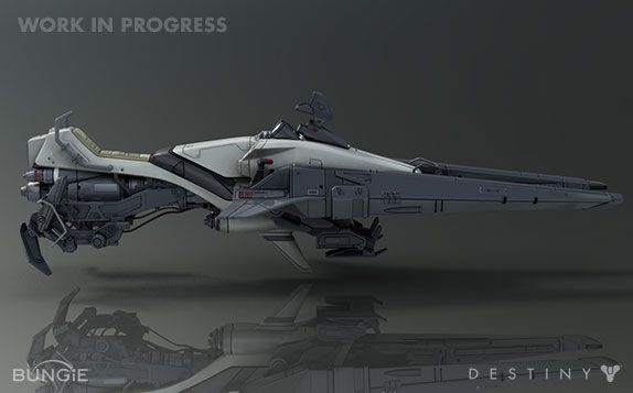 Destiny Vehicle Shrike Is Your Personal Hoverbike
