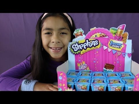 SHOPKINS Blind Baskets- Unboxing Whole Box of Shopkins Pt2|B2cutecupcakes