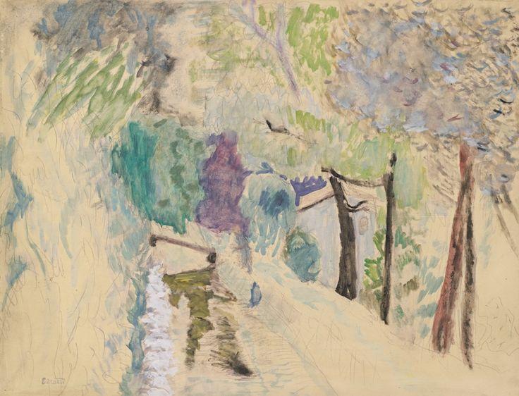 Pierre Bonnard (1867-1947) - paysage au Cannet