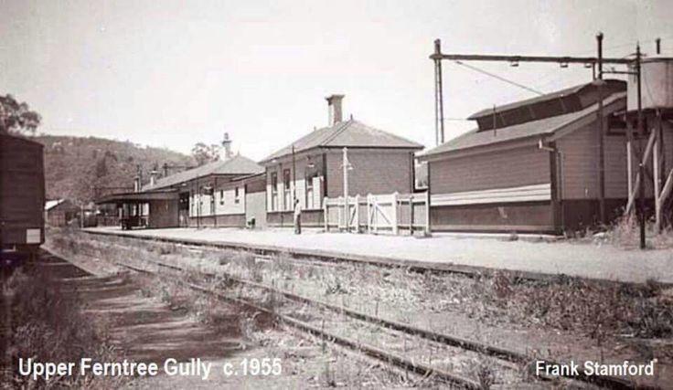 Upper Ferntree Gully c1958.