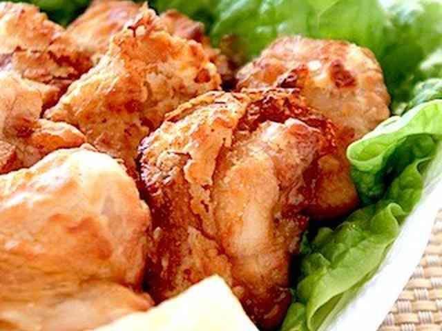 定番おかず✤簡単!揚げない鶏の唐揚げの画像