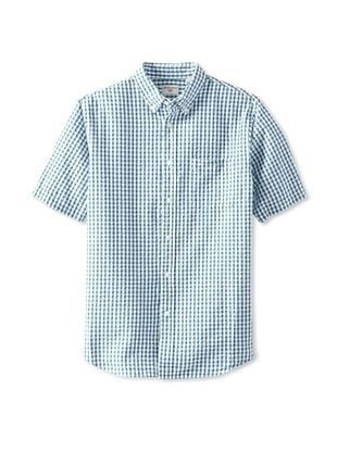 Dockers Men's Puckered Gingham Shirt