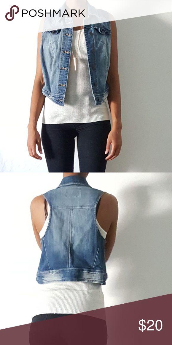 American Rag basic jean vest American Rag basic jean vest American Rag Jackets & Coats Vests