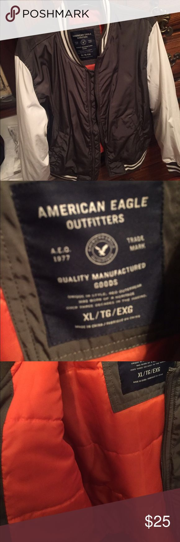 American Eagle Men's Varsity Jacket Brand new! American Eagle Outfitters Jackets & Coats Bomber & Varsity