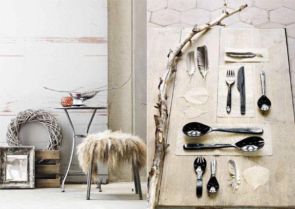 Scandinavian Interior. Mood Board from Norway.