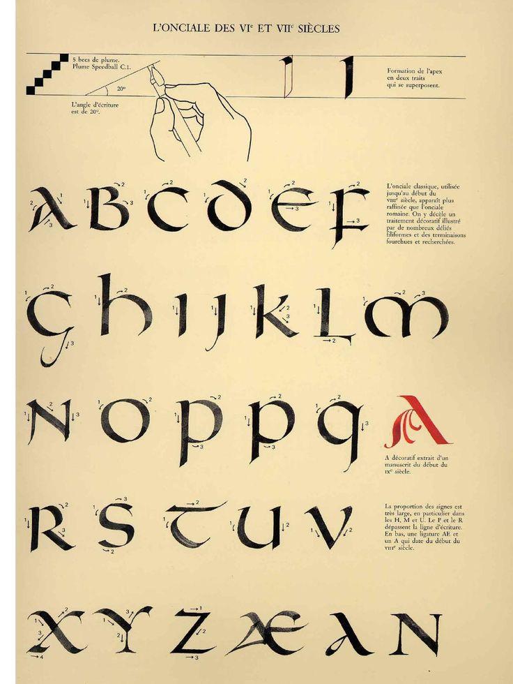 #ClippedOnIssuu from Calligraphie claude mediavilla ductus