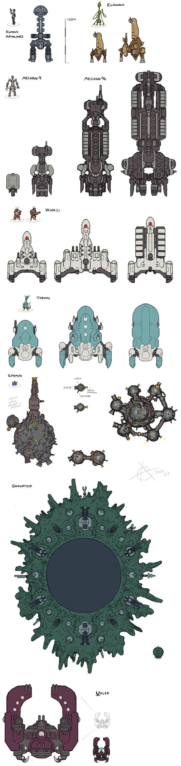 starflight 1 ships