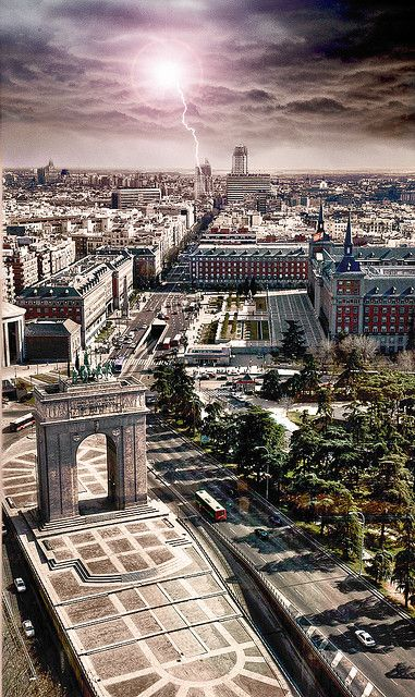 Madrid - Mirador Moncloa Spain