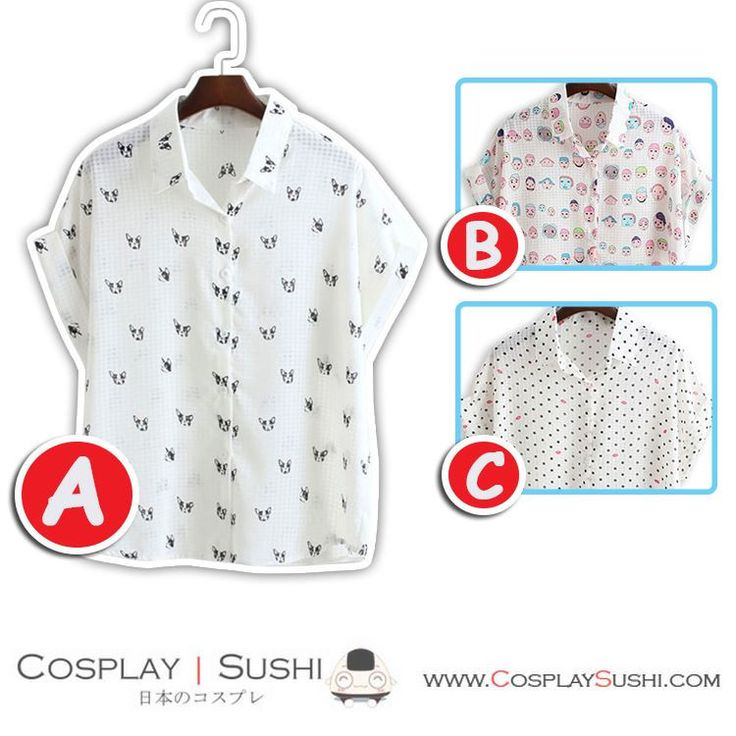 Grab our NEW Fancy Blouse! SHOP NOW ► http://bit.ly/1Opa3bK Follow Cosplay Sushi for more cosplay ideas! #cosplaysushi #cosplay #anime #otaku #cool #cosplayer #cute #kawaii #Fancy #Blouse #tops #clothes #design #style