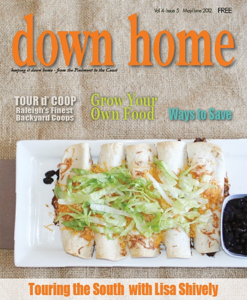 Down Home Magazine May/June 2012 Issue   Touring The South With Lisa  Shively