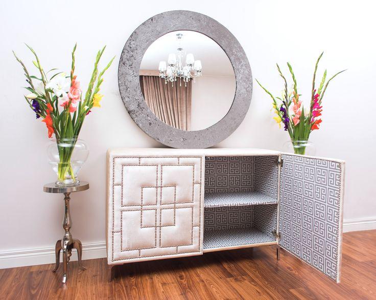 La Dolce- tapicerowana komoda od Ornali// La Dolce upholstered dresser by Ornali