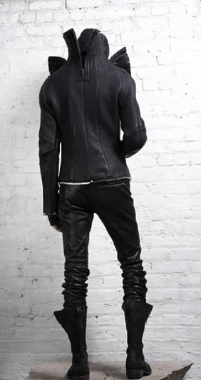 Visions of the Future: cyberpunk, dark fashion, cyberpunk fashion, future fashion, urban style, man in black, cyberpunk clothing, total black, industrial, future man, dystopian fashion, futuristic style