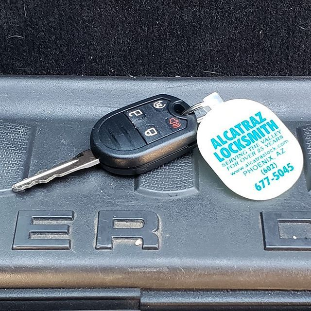 Remote keyless entry Ford key programming  602 677 5045  www