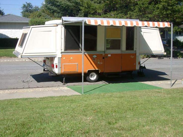 Parts Of A Camper : Apache pop up camper part hard side
