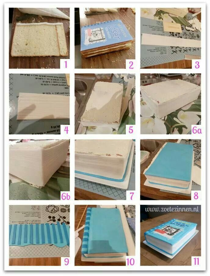 Book cake how to