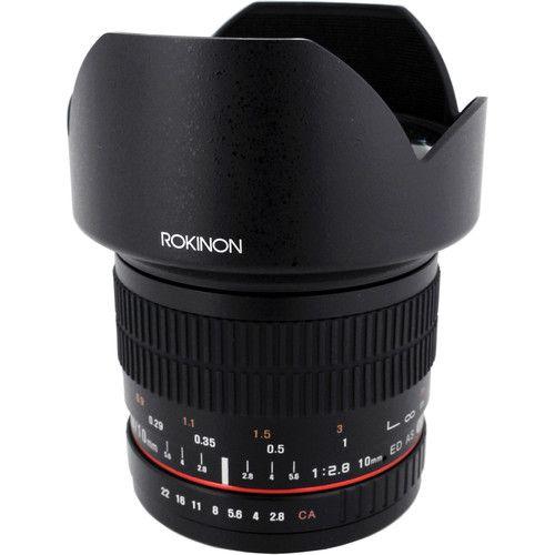 Rokinon 10mm f/2.8 ED AS NCS CS nejde ND filtr