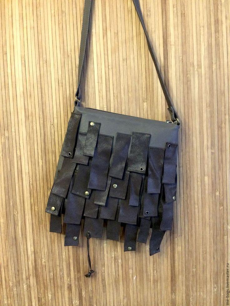 Купить Malta. Маленькая коричневая сумочка через плечо - сумочка через плечо, сумочка женская