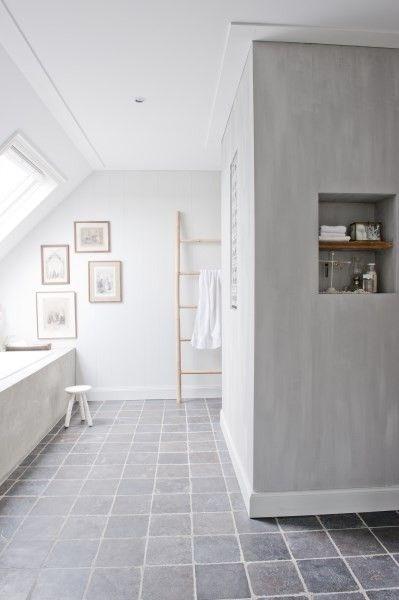 Mooi licht, brengt mij op het idee om lichtkogels in de badkamer te maken voor natuurlijk licht en geen lichtinval.