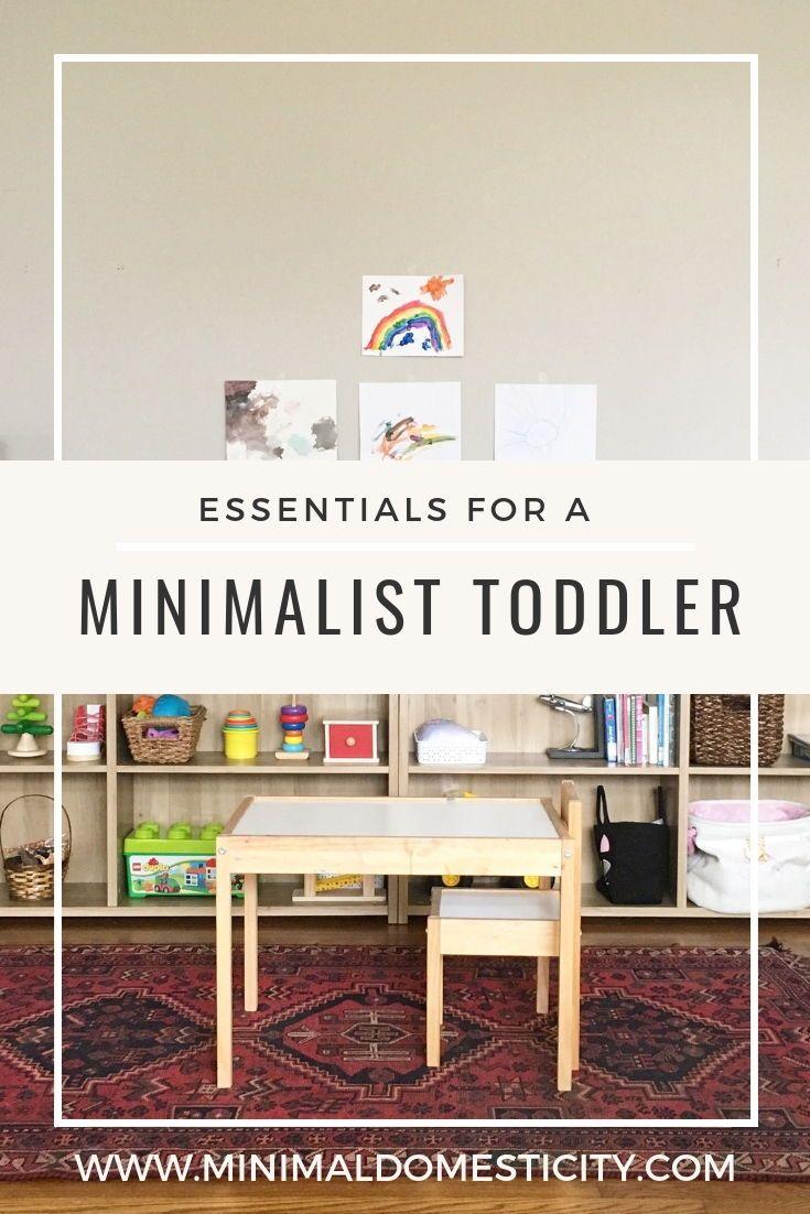Minimalist Toddler Essentials Toddler Essentials Minimalist