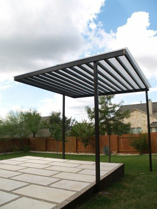 pergola aus metall 40 inspirierende beispiele und ideen pergolas patios and outdoor living. Black Bedroom Furniture Sets. Home Design Ideas
