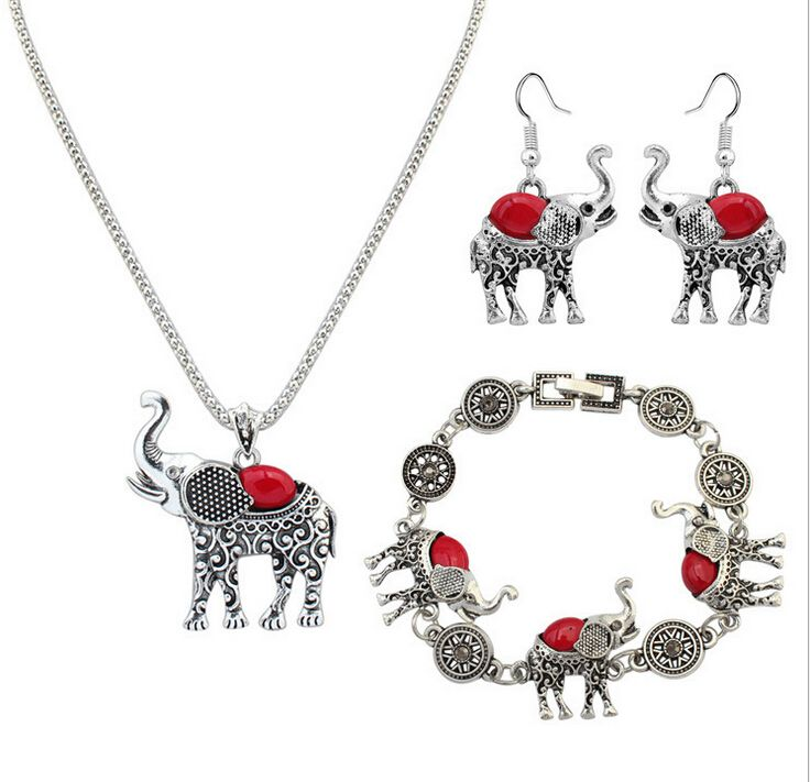 Find More Jewelry Sets Information about Zenper Fashion Elephant jewelry sets Retro personality jewellery Imitation turquoise jewelry three   piece Christmas Gift L55,High Quality gifts online free shipping,China jewelri Suppliers, Cheap jewelry monkey from Yiwu zenper accessories crafts co.,ltd  on Aliexpress.com