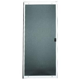 Ritescreen Steel Sliding Screen Door (Common: 30-In X 80-In; Actual: 30-In X 80.125-In) 140Smfitoh30wn