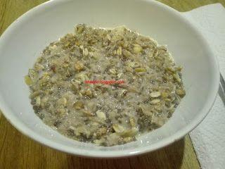 Sta sera cucino io: Overnight Porridge mela e cannella