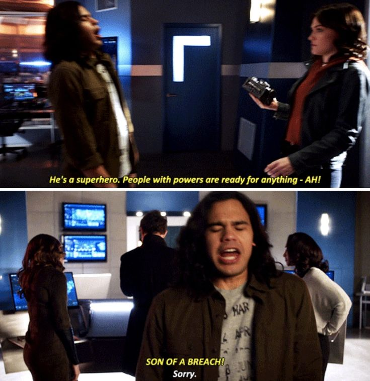 The Flash 4x15 - Hey, Jesse, welcome back.