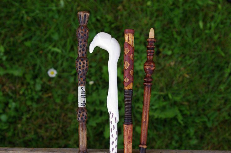 Voldemort wand - handmade wooden replica by Kwerkies on Etsy