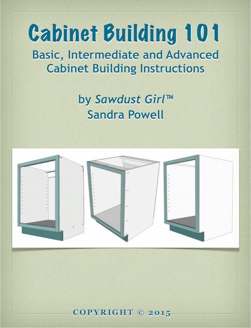 Cabinet Building 101 eBook