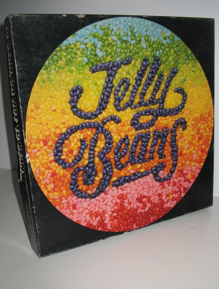 Vintage Springbok circular Jelly Beans puzzle. A bit late for Easter, LOL. Listed on eBay for $39.96 with free U.S. and Canadian shipping. #puzzles #springbok #jellybeans