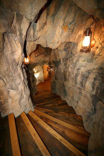 A secret passage - they are awesome.